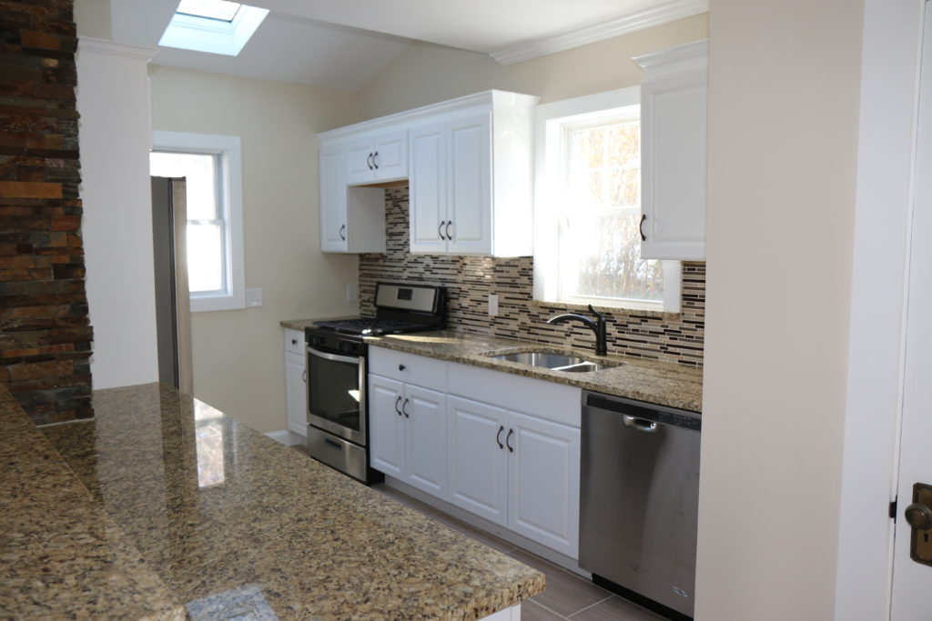 After - Renovated Kitchen with Skylight