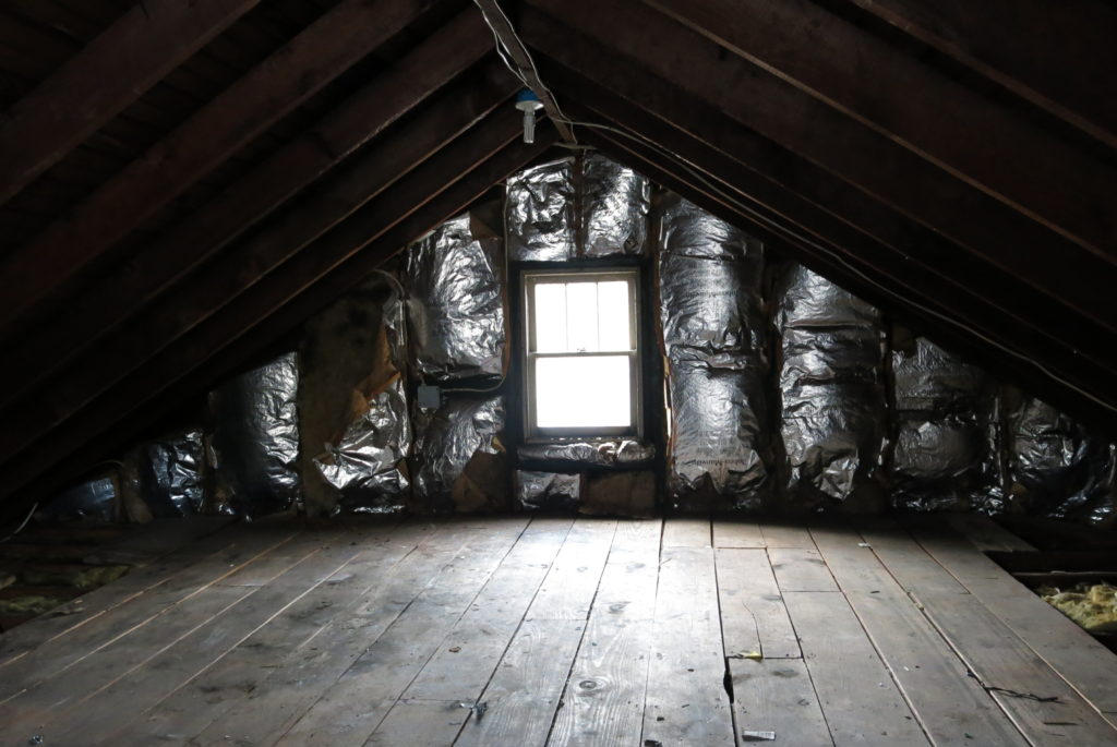 Before - Attic Space