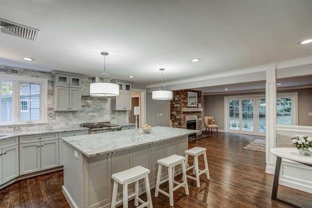 Renovated Kitchen with Island