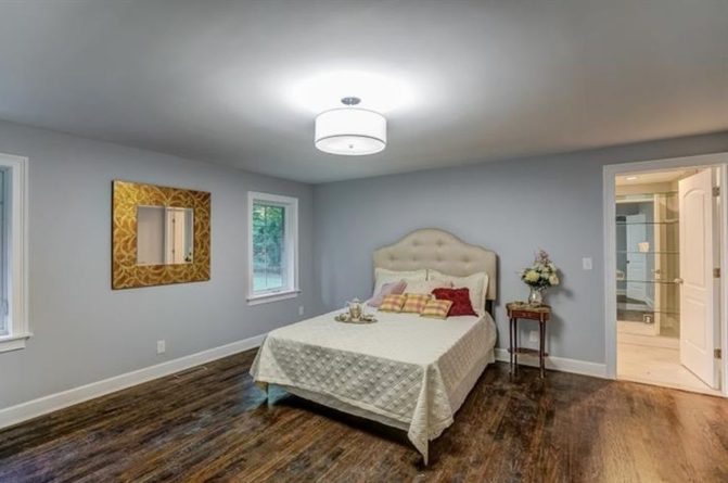 Renovated Master Bedroom