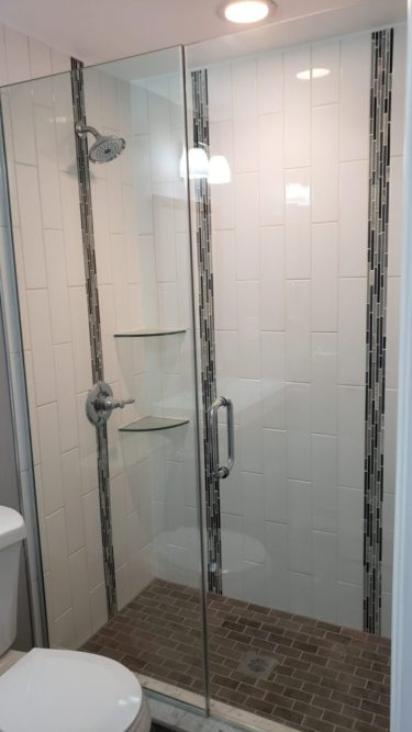 Renovated Walk-in Shower