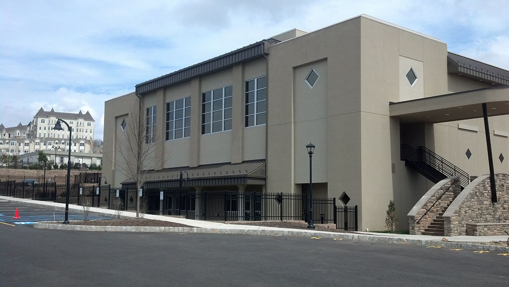 Completed Commercial Building Construction