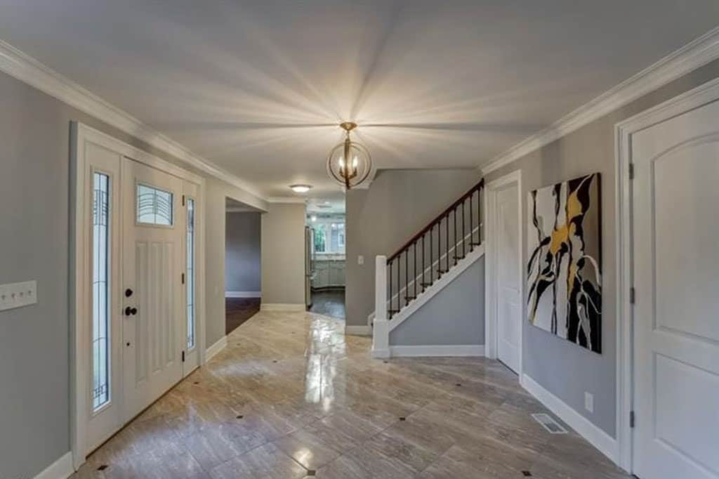 Renovated Front Foyer