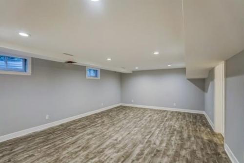 Renovated Full Basement