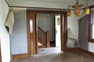 Before - Living Room and Foyer