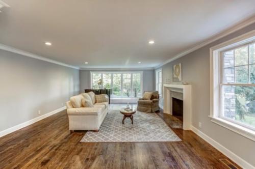 Renovated Bonus Room with Fireplace