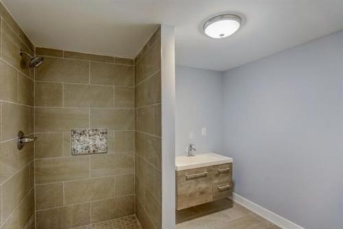 Renovated Full Bath with Shower