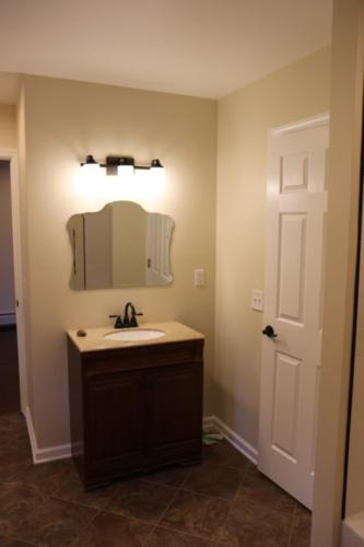 Renovated Full Bath Vanity