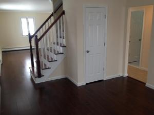 Renovated Foyer and Living Room