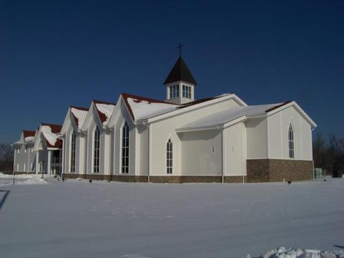 Completed Church Construction
