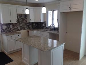 Renovated Eat-in Kitchen with Island
